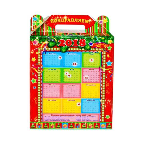 Новогодний подарок Шнопик Календарь