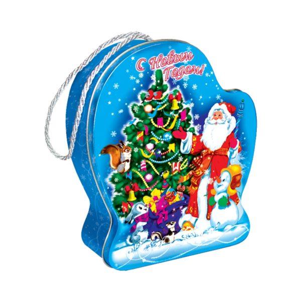 Новогодний подарок Рукавичка Дед Мороз и внучка