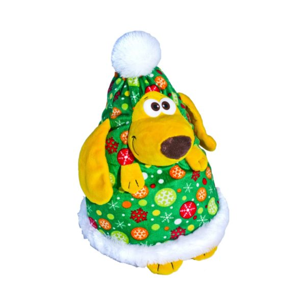 Новогодний подарок Ёлка-шапка