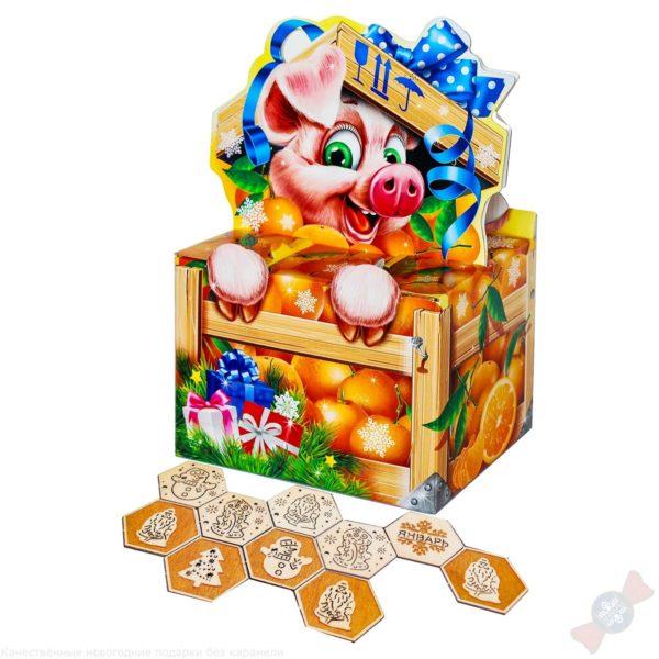 Подарок Запах мандаринов с развивающей игрой