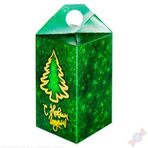 подарок Презент зеленый