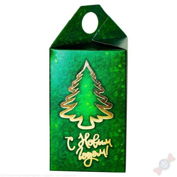 Новогодний подарок Презент зеленый