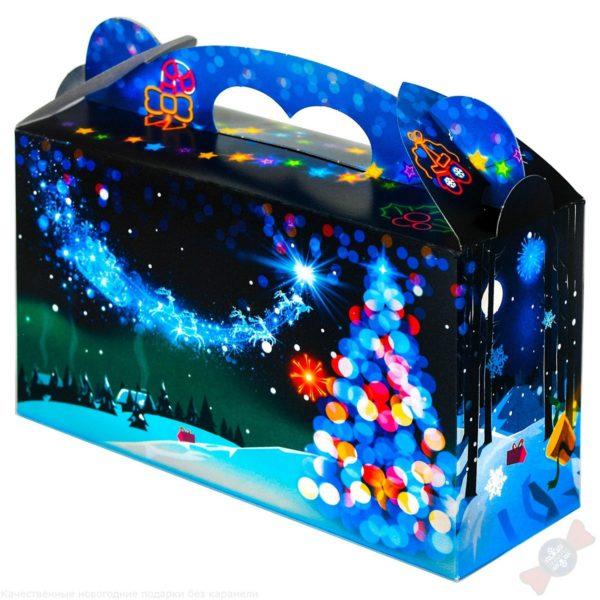 подарок в картонной упаковке Новогодняя ночь