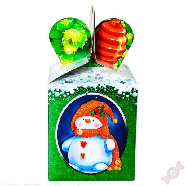 Друзья в кубе детский сладкий подарок на новый год 2019 с вложением