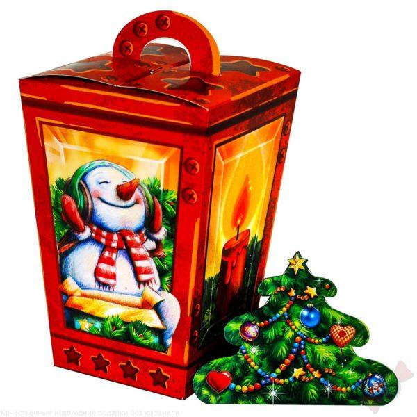 Красивый подарок для ребёнка Фонарик новогодний