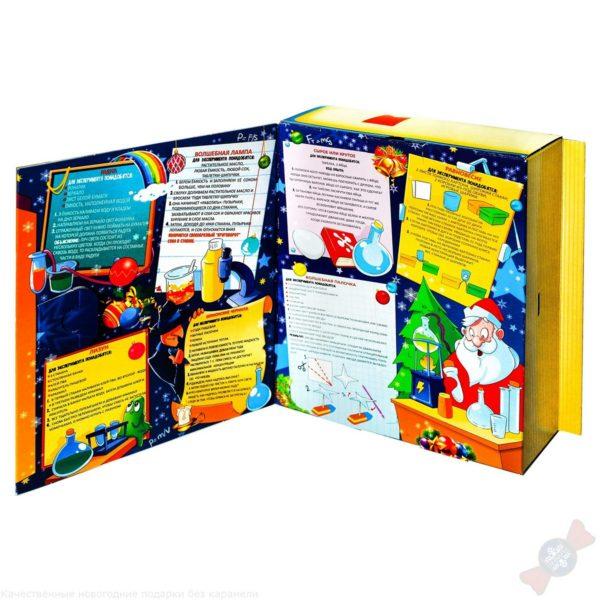 Новогодний подарок в виде книги Лабораториум