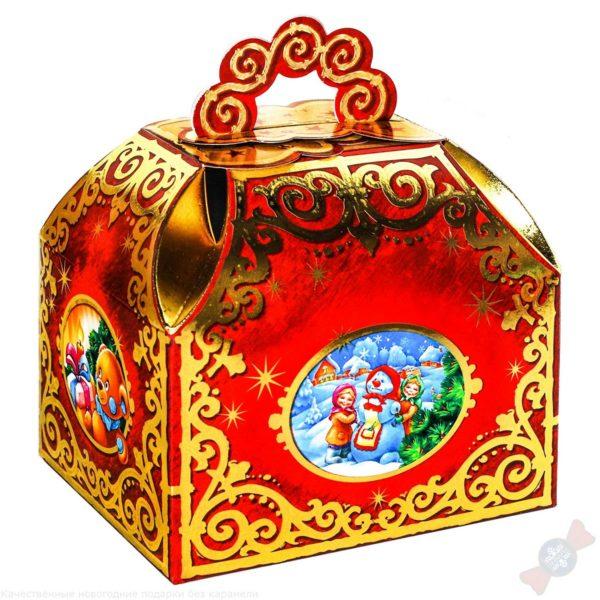 Сладкий подарок Золотой Ларец на новый год