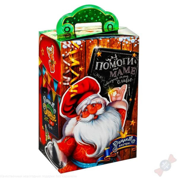 Сладкий подарок 2019 Новогодний холодильник
