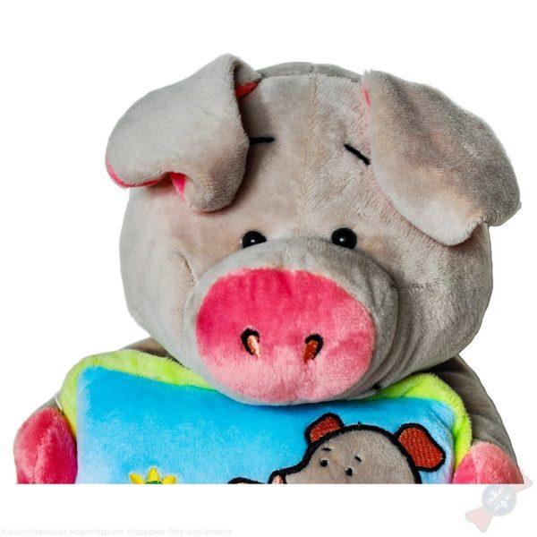 Для вас, малыши! свинья с подушкой