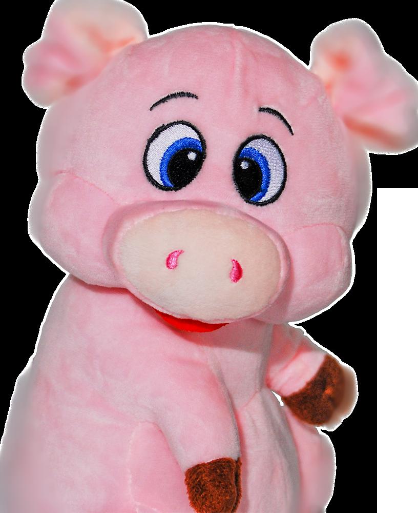 Мягкая игрушка свинка 2019