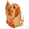 Фетровый рюкзак для детей 2019 Пятачок рюкзачок