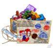 Посылка от Деда Мороза с конфетами