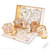 """Полезный подарок для ребёнка на новый год с конфетами Театр-сказка """"Три поросёнка"""""""