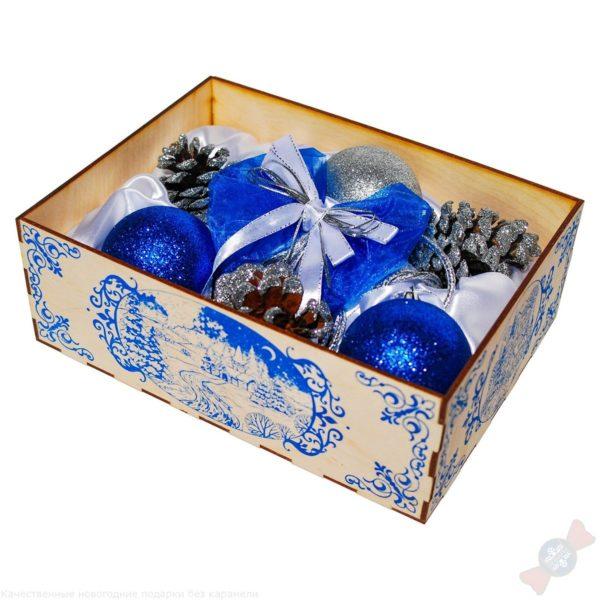 Новогоднее украшение подарок для нового года