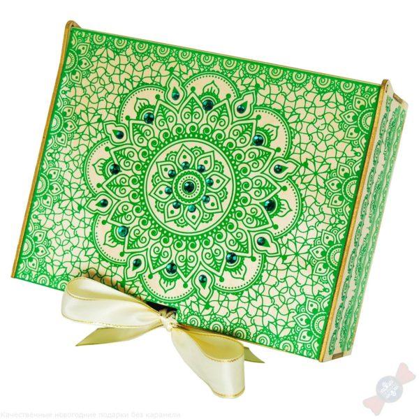 Подарок Малахитовая шкатулка