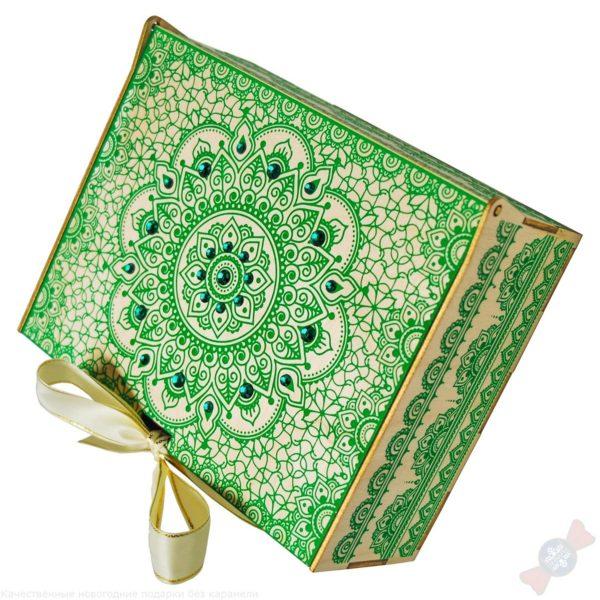 Новогодний подарок Малахитовая шкатулка