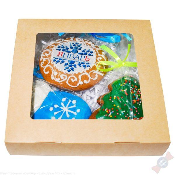 Новогодний подарок в наборе Пряники