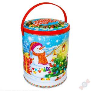 Новогодний подарок в жестяной банке Мирон 2