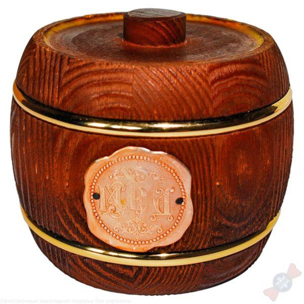 Новогодний подарок Бочонок с мёдом
