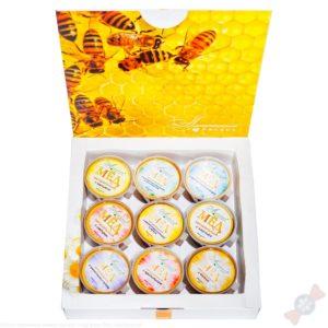 Новогодний подарок Медовый набор Мёд от всех забот
