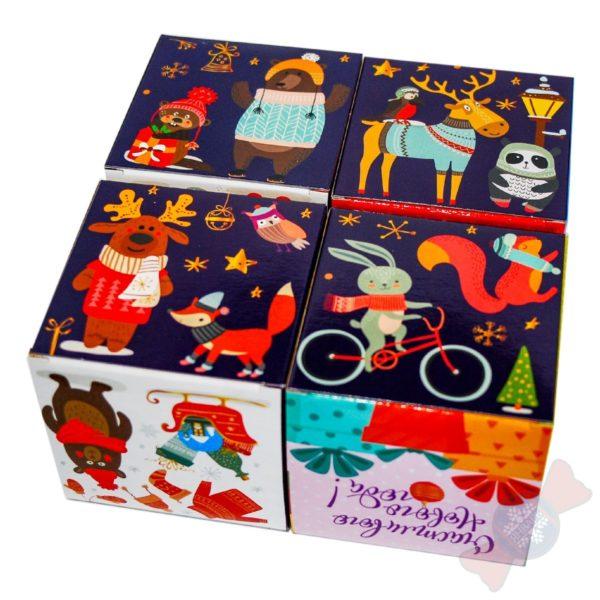 Новогодний подарок 2020 года Кубик в кубе