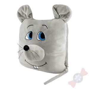 Подарок игрушка Мышка-Плед-Подушка
