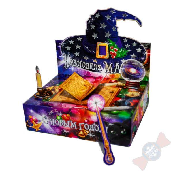 Упаковка из микрогофрокартона Сладкий новогодний подарок 2020 Новогодняя магия