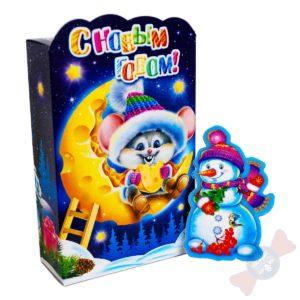 Детские сладкие новогодние подарки Лунтик