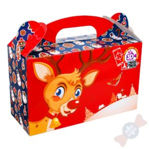 Детский новогодний подарок Сюрприз 3D
