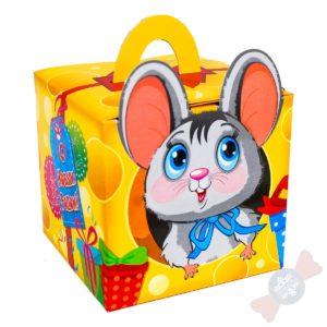 Новогодние подарки детям Мышка-Норушка