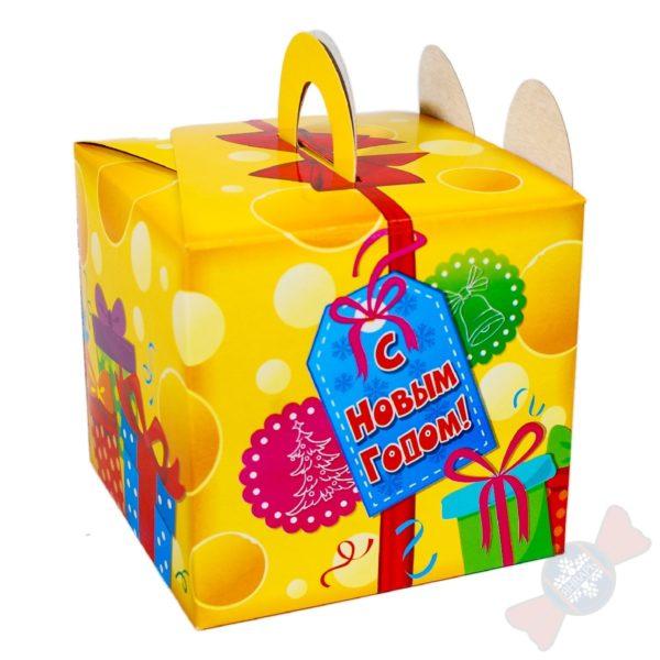 Мышка-Норушка новогодний подарок с надписью