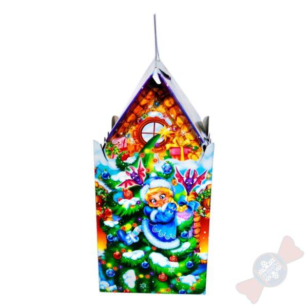 Новогодняя упаковка из картона Сказочный замок
