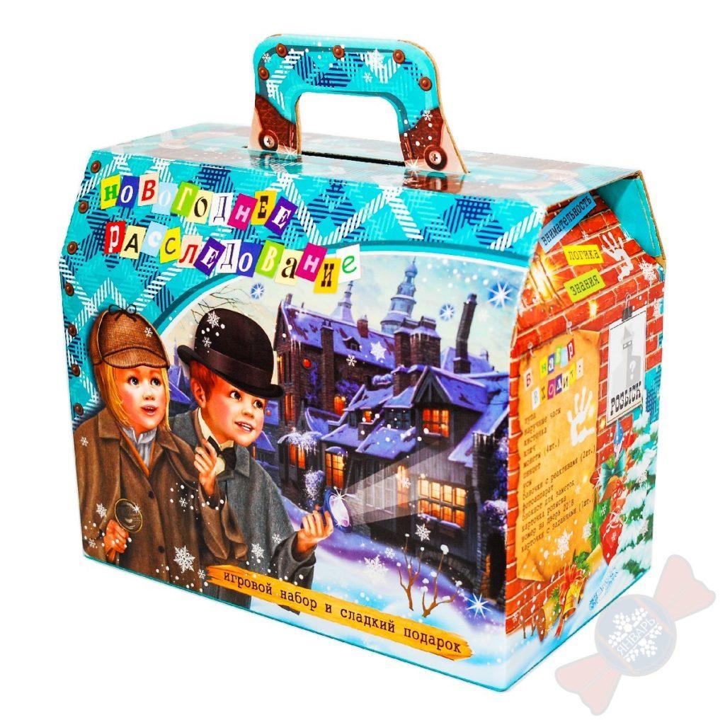 Детский сладкий подарок Новогодний квест-детектив