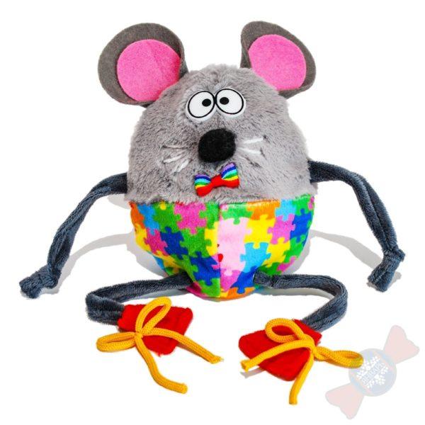 Подарки оптом Крыска Боб разноцветные штаны