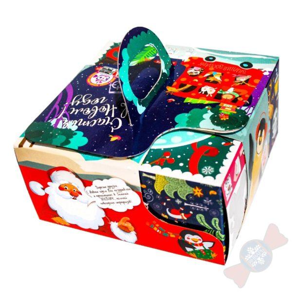 Кубик в кубе сладкий подарок на 2020 новый год