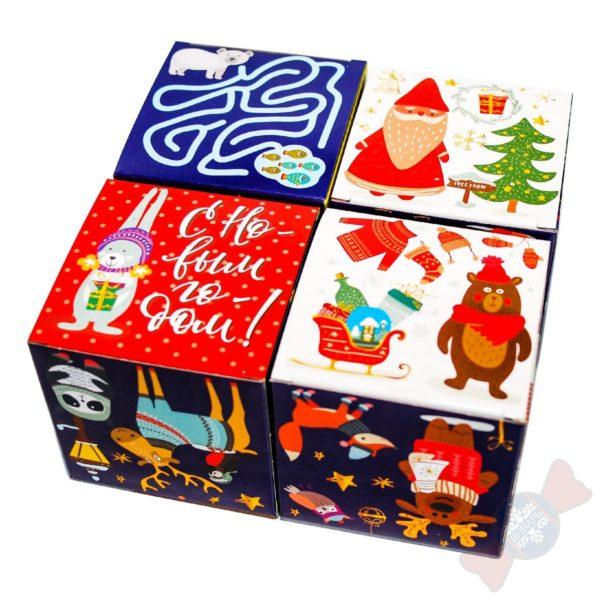 Интереснейший новогодний подарок Кубик в кубе