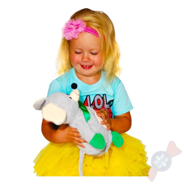 Мягкая игрушка Мышка-Плед-Подушка