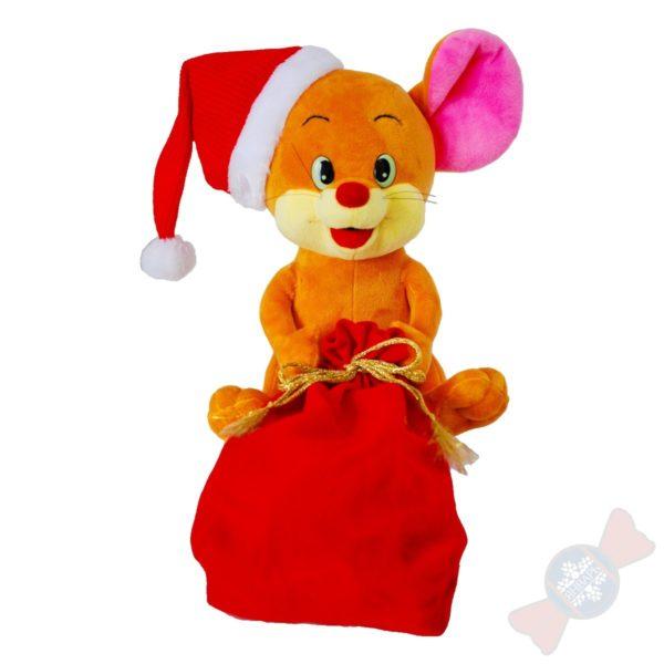 Новогодняя мягкая игрушка Джерри