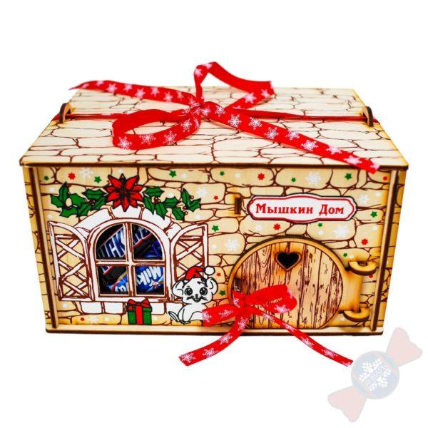 Новогодние подарки Мышуля с ипотекой