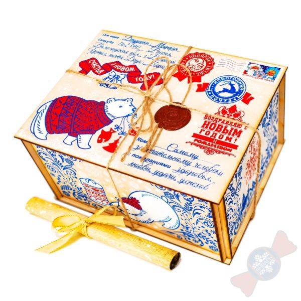 Оптом купить подарки Посылка от Деда Мороза