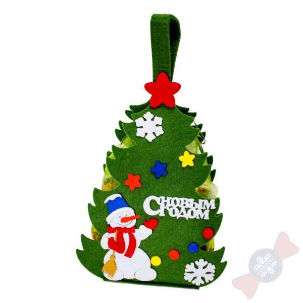 Детские новогодние подарки Ёлка-фетр