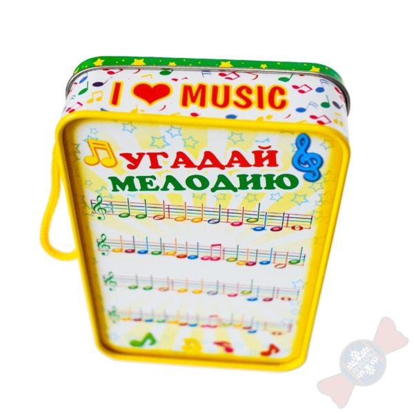 Подарок из жести Пенал Валдиса Пельша с мелодией