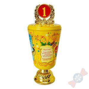 Новогодний подарок из жести Кубок самому лучшему ребенку