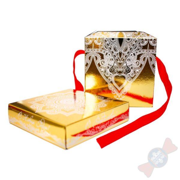 Новогодний подарок 2020 года Золотой куб