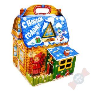 Новогодний подарок в детский сад «Три медведя»