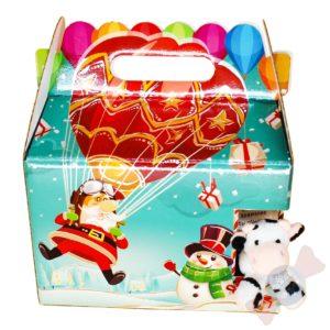 Новогодний подарок с конфетами «Воздухоплаватель»