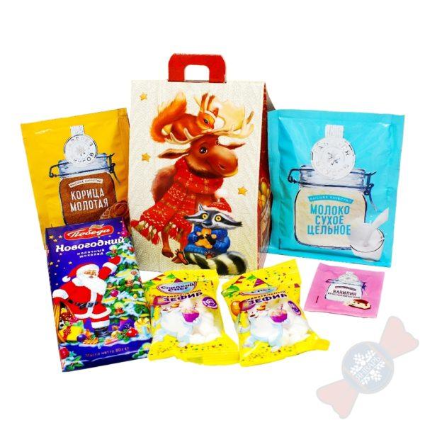 """Корпоративные новогодние подарки """"Шоколад горячий, очень вкусный"""""""