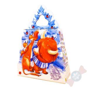 Детский новогодний подарок оптом «Быковы на ёлке»