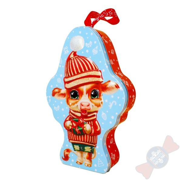 Сладкие новогодние подарки символ года «Маленький Мук»
