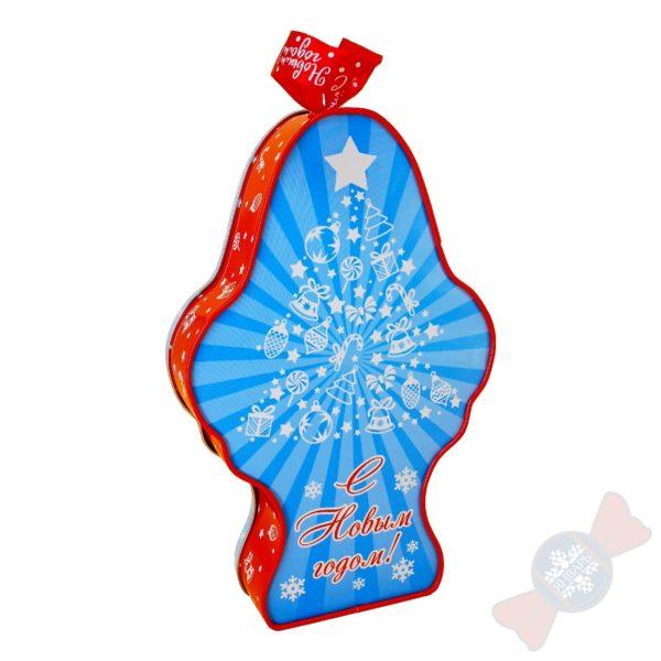 Сладкие новогодние подарки символ года 2021 «Маленький Мук»